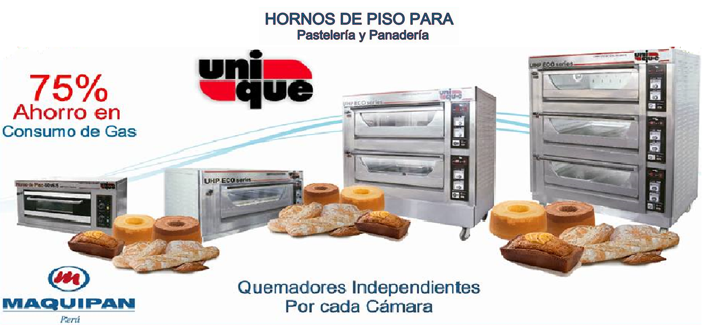HORNOS DE PISO UHP ECO UNIQUE